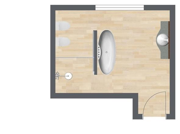 Badezimmer   (bauen, Hausbau, Badezimmer)