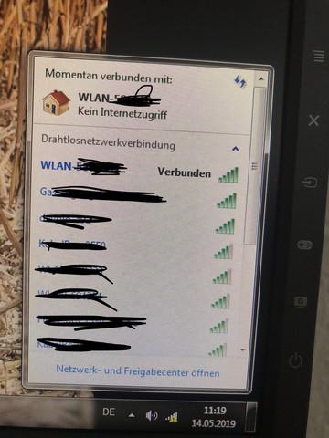 - (Internet, WLAN)