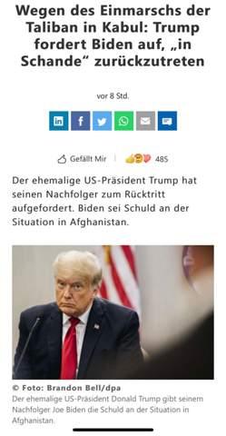 Trump verurteilt Biden?
