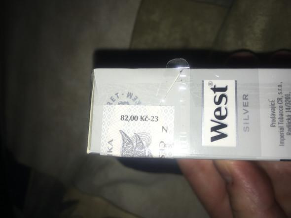 West - (Zoll, Zigaretten, Tschechien)