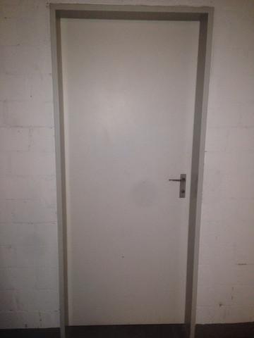 Tür von außen  - (heimwerken, Tür, Schall)
