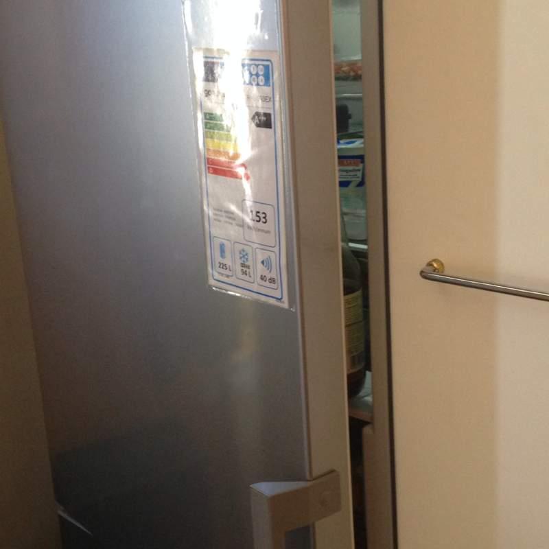Türanschlagwechsel bei Kühlschrank, Tür schließt nun nicht