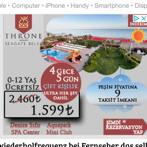 Werbung - (Reise, Werbung, Türkei)