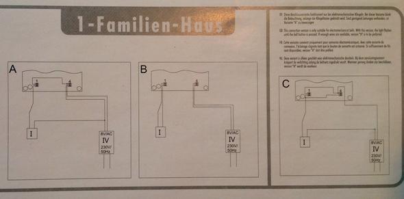 Großartig Verdrahtung 3 Kabel Türklingel Ideen - Elektrische ...