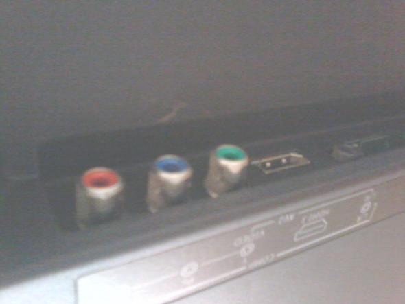 Grün--> Video,,,,, Blau--> PB,,,,,, Rot--> PR - (Fernsehen, Wii, wii-anschliessen)