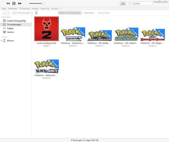 Bild 1 (iTunes Ansicht) - (iPhone, Apple, Windows)
