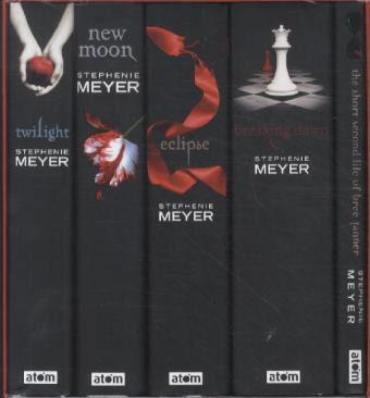 Twilight Schuber in Englisch - (Buch, Twilight, Box)