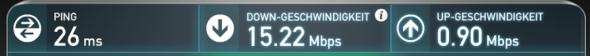 Speedtest - (Twitch, Störung, streams.....)
