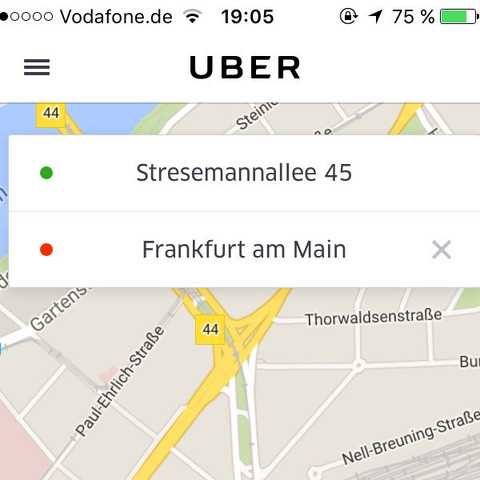 Bild 1 - (Taxi, uber)
