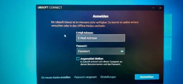 Ubisoft Connect geht nicht?