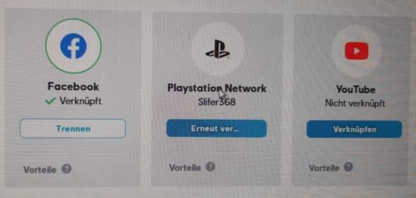 Ubisoft Konto-Verknüpfung ändern (Playstation)?