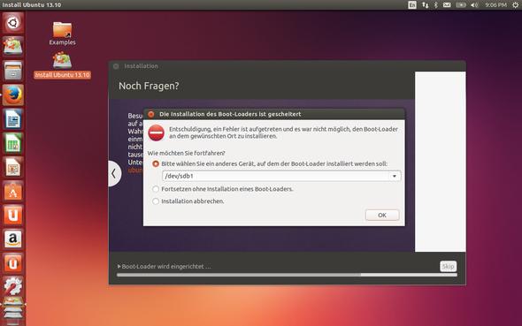 Bootloader Fehler - (Installation, Linux, Ubuntu)