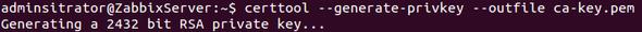 Schritt 1 Zertifikat - (Ubuntu, zertifikat,  fail)
