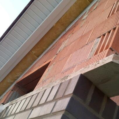 Übergang Glaswolle außen nach innen - (bauen, Hausbau, Dach)