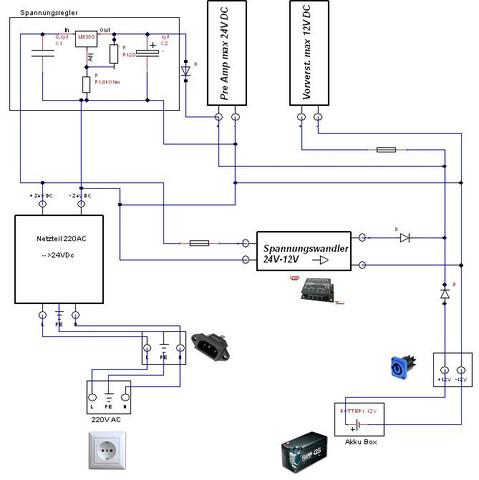 Schaltung - (Elektronik, Elektrotechnik, Schaltplan)