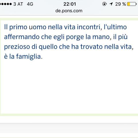 Sprüche italienisch mit übersetzung
