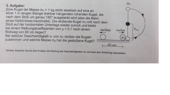 Übung zur Klausur: Physik Impuls ?