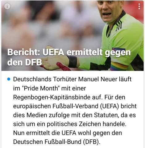 Uefa ermittelt gegen DFB. IST ES FAIR?