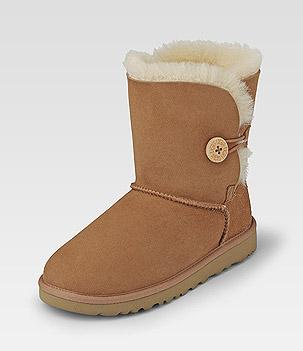 Ugg Bailey Button Dunkler Knopf