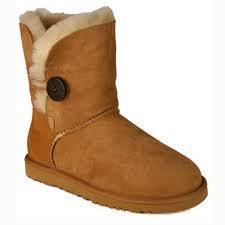 schwarzer knopf - (Boots, knopf, UGG)