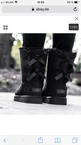 Ugg Boots unterschiedliches Logo?