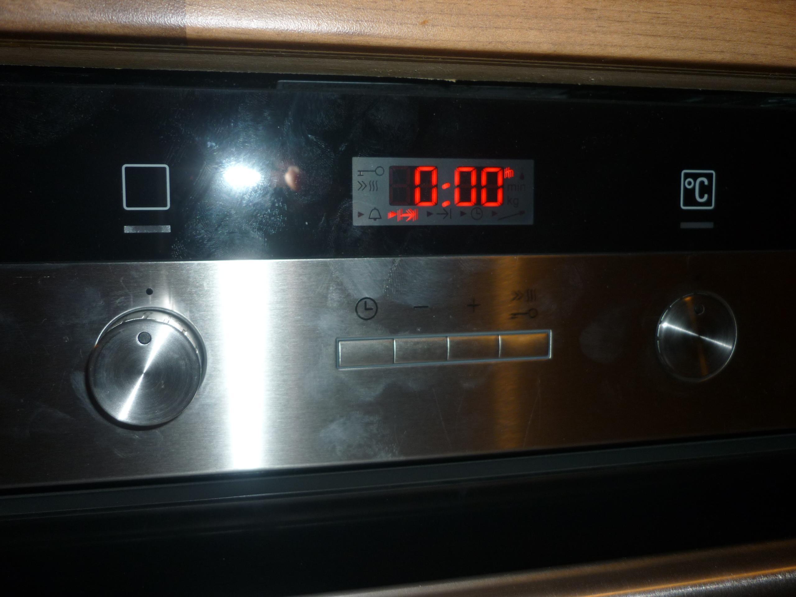 Uhr stellen am backofen wie ich hab keine Anleitung Siemens