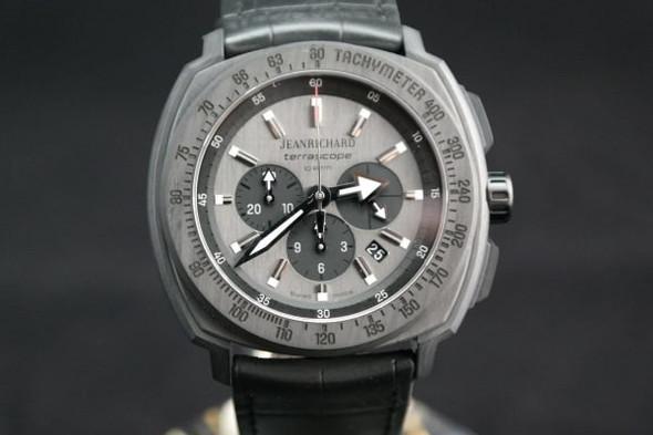 Jeanrichard Terrascope in Carbon edition - (Uhr, Armbanduhr, Accesoires)