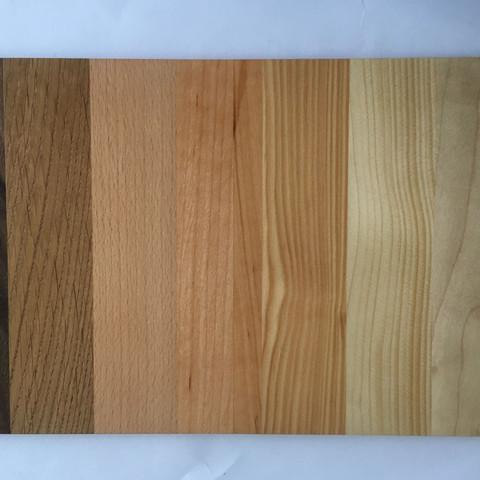 Lackierte Seite des Brettes  - (Natur, Holz, Baum)