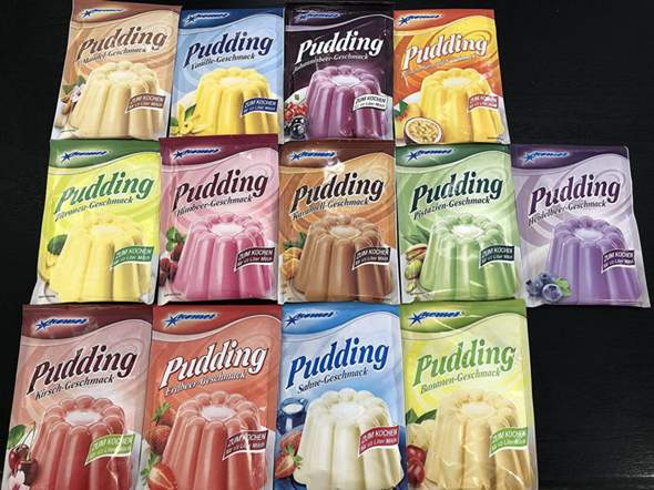 Umfrage: Welcher Pudding ist dein Favorit?