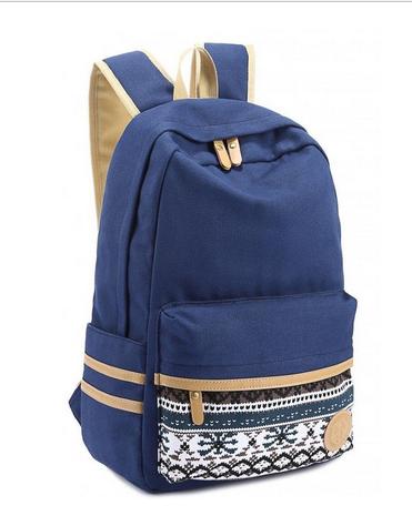 Der dunkelblaue Rucksack. - (Umfrage, Rucksack)