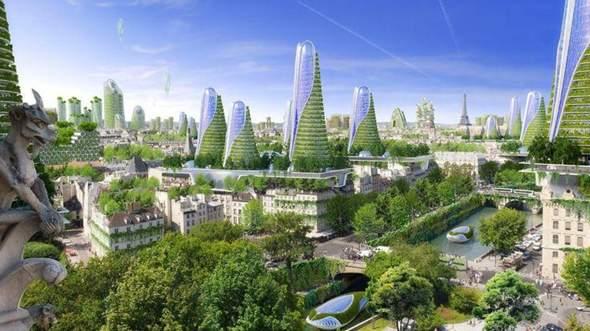Umfrage: Wie sollen die Städte der Zukunft aussehen?