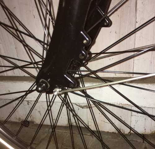 Umrüstung von V-Brake auf Scheibe am Fahrrad, geht das?