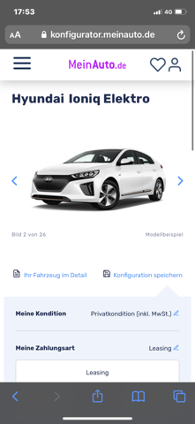 Umweltprämie bei Meinauto.de?