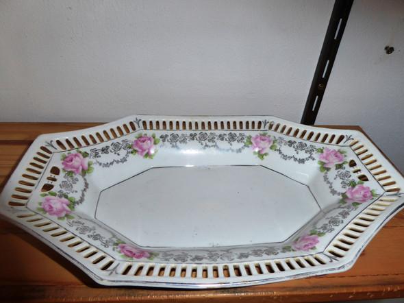 Porzellanzierteller - (Haus, Geschirr, Porzellan)
