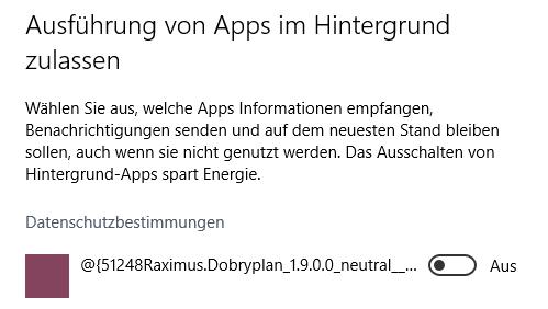 App - (Windows, Telekommunikation, Windows 10)
