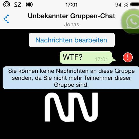 Was zur... - (WhatsApp, Gruppe, unbekannt)