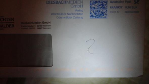Zeichen auf dem Briefumschlag - (Post, Brief, Zeichen)
