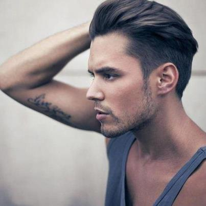 Haare nach hinten stylen undercut