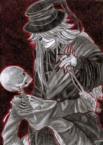 Undertaker black butler cosplay selber n hen anime mantel - Anime selber machen ...