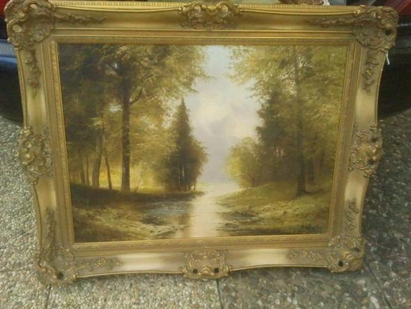Bild 1 - (Kunst, Malerei, Gemälde)