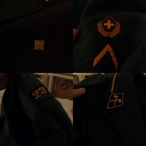 - (Feuerwehr, Armee, uniform)
