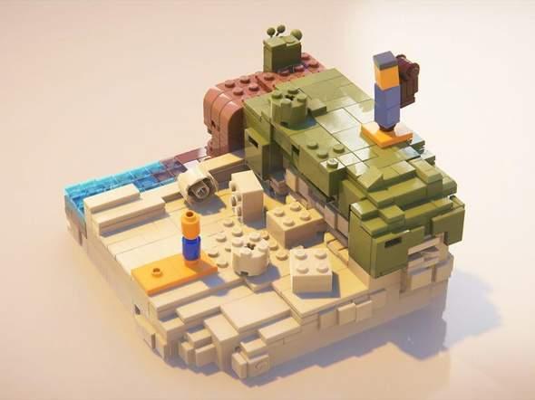 Unity, lego rendern?