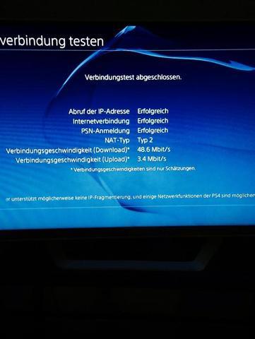 Verbindung ist möglich / bricht aber dann ab - (Internet, PS4, PSN)