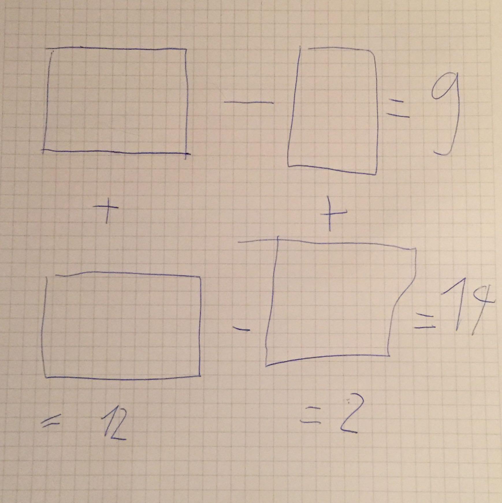 unl sbares mathematisches r tsel mathematik gleichungen. Black Bedroom Furniture Sets. Home Design Ideas