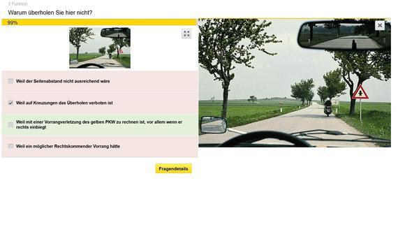 Unlogische Führerschein Frage
