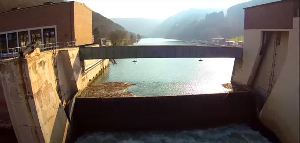Unsere Schleußen am Fluss fürs Wasser?