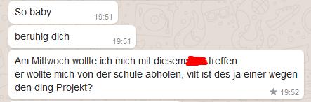 Whatsapp Chatverlauf_2 - (Beziehung, Sex, Angst)