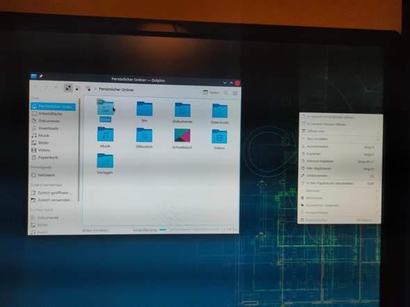 Untermenü bei KDE Plasma taucht ganz woanders auf?
