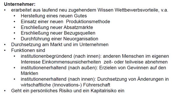 Auszug aus der mir vorliegenden Präsentation - (Unternehmen, BWL, Ökonomie)