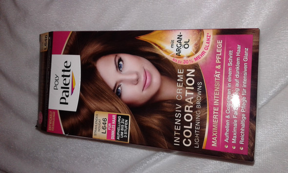 Verpackung von vorne - (Haare, Haare färbentönen)